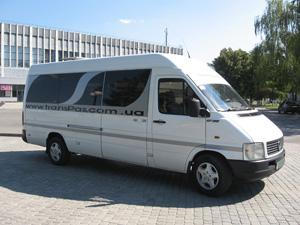 Микроавтобус для экскурсии Харьков